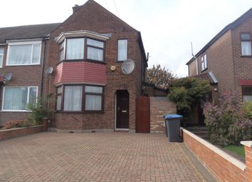 Thumbnail 3 bed semi-detached house for sale in Exeter Road, Ponders End, Enfield