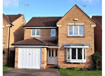 Thumbnail 4 bed detached house for sale in Swinderby Close, Worksop