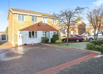 Thumbnail 2 bedroom semi-detached house for sale in Naseby Road, Perton, Wolverhampton