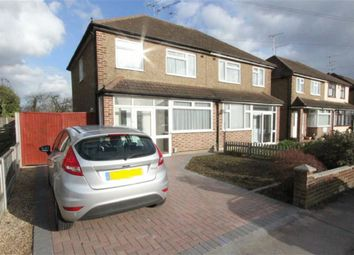 Thumbnail 3 bed semi-detached house to rent in Brook Drive, Wickford, Essex