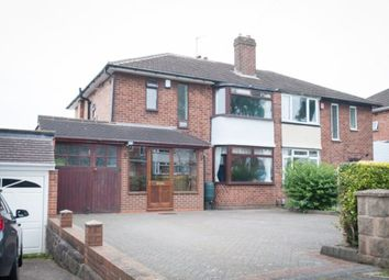 Thumbnail 3 bedroom semi-detached house for sale in Rosslyn Road, Walmley, Sutton Coldfield