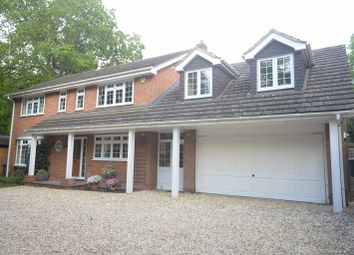 Thumbnail 5 bed detached house to rent in Ashford Hill Road, Headley, Thatcham