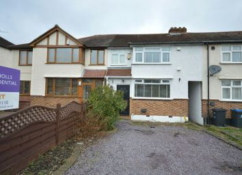 Thumbnail 3 bed terraced house to rent in Bridge Road, Chessington