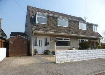 Thumbnail 3 bed property to rent in Manor Park, Pencoed, Bridgend