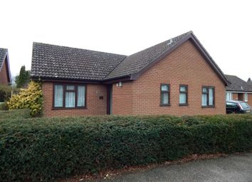 Thumbnail 3 bedroom bungalow for sale in 22 Springfields, Attleborough, Norfolk