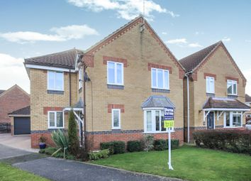 Thumbnail 5 bed detached house for sale in Burchnall Close, Deeping St. James, Peterborough
