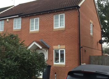 Thumbnail 2 bed semi-detached house to rent in Bramham Close, Leicester
