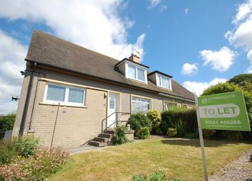 Thumbnail 3 bed semi-detached house to rent in Dalmaik Terrace, Peterculter, Aberdeen