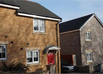 Thumbnail 2 bed semi-detached house for sale in Maes De Braose, Gorseinon