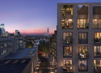 Thumbnail 1 bed flat for sale in 68 Signature Place, Postmark, London