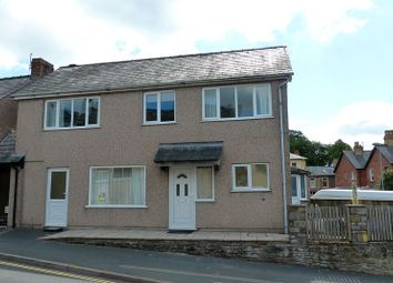 Thumbnail 3 bed end terrace house for sale in Maendu Street, Brecon