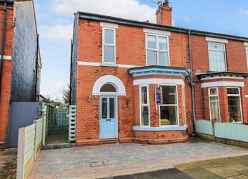Thumbnail 3 bed semi-detached house to rent in Whitelake Avenue, Urmston, Manchester