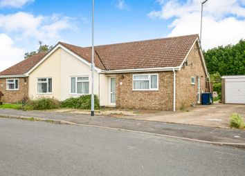 Thumbnail 3 bed semi-detached bungalow for sale in Meadow Way, Wimblington, March