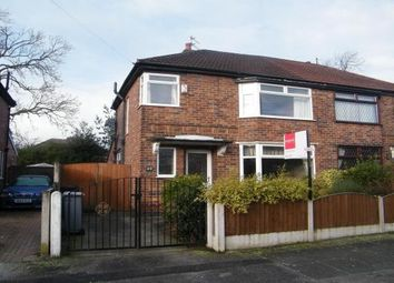 Thumbnail 3 bed semi-detached house to rent in Urmston, Manchester