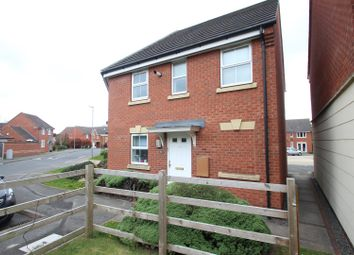 Thumbnail 2 bedroom flat for sale in Loughland Close, Blaby, Leicester