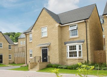 "Thumbnail 4 bed detached house for sale in ""Mitchell"" at Manywells Crescent, Cullingworth, Bradford"