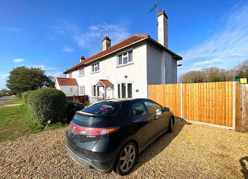 Thumbnail 3 bed semi-detached house for sale in Hill Road, Middleton, King's Lynn