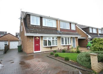 Thumbnail 3 bed semi-detached house for sale in Kirkwall Close, Stockton-On-Tees