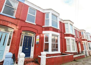 Thumbnail 5 bedroom terraced house to rent in Stalbridge Avenue, Wavertree, Liverpool