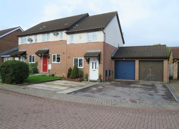 Thumbnail 2 bed semi-detached house for sale in Heol Draenen Wen, Culverhouse Cross, Cardiff