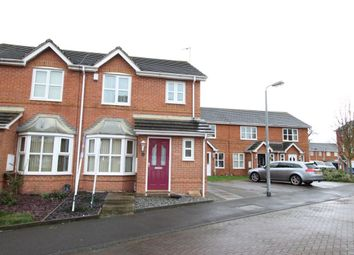 Thumbnail 3 bedroom terraced house for sale in Briarwood Close, Castle Grange, Hull