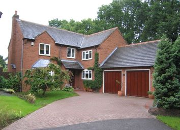 Thumbnail 4 bedroom detached house to rent in Brampton Crescent, Shirley, Solihull