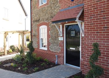 Thumbnail 2 bed semi-detached house for sale in Plot 63, Heath Farm, Holt