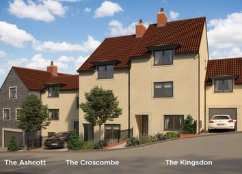 "Thumbnail 2 bed town house for sale in ""The Kingsdon"" At Pesters Lane, Somerton TA11, Somerton,"