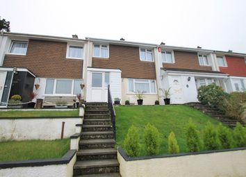 Thumbnail 3 bed terraced house for sale in Lynher Drive, Saltash