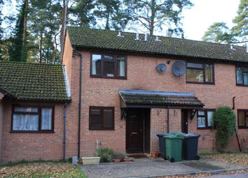 Thumbnail 2 bed terraced house to rent in Woodpecker Close, Whitehill, Bordon