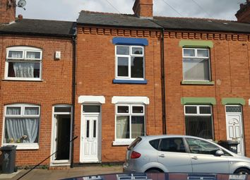 Thumbnail 3 bed terraced house to rent in Southdown Road, North Evington, Leicester