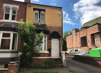 Thumbnail 3 bedroom end terrace house for sale in Greenfield Road, Harborne, Birmingham, West Midlands