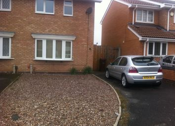 Thumbnail 2 bed semi-detached house to rent in Hambrook Close, Wolverhampton