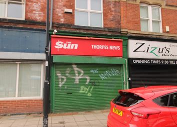 Thumbnail Retail premises for sale in 133 Upperthorpe Road, Sheffield, South Yorkshire