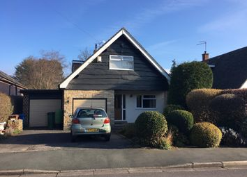 Thumbnail 3 bed detached house for sale in Wensley Drive, Hazel Grove, Stockport