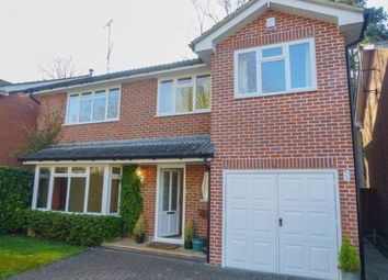Thumbnail 4 bed detached house to rent in Oakwood Road, Windlesham
