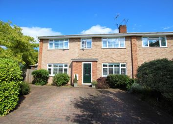Thumbnail 4 bed semi-detached house to rent in Bois Hall Road, Addlestone