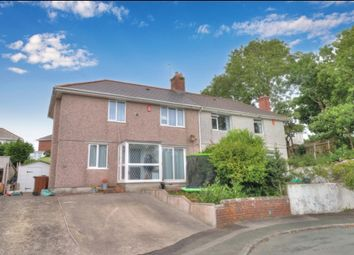 Thumbnail 3 bed semi-detached house for sale in Tenby Road, Plymouth