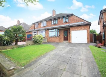 Thumbnail 3 bed semi-detached house for sale in Farmstead Road, Solihull