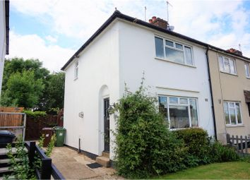 Thumbnail 2 bedroom end terrace house for sale in Melbourne Road, Bushey