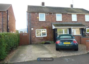 Thumbnail 2 bedroom semi-detached house to rent in Poplar Avenue, Peterborough