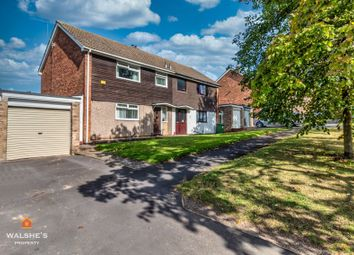 Thumbnail 3 bed semi-detached house for sale in Coleridge Avenue, Scunthorpe