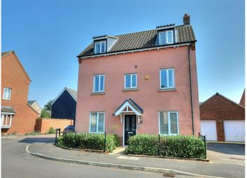 Thumbnail 3 bed detached house for sale in Brambling Lane, Norwich