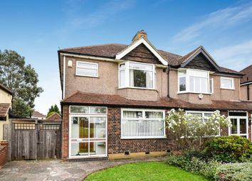 Thumbnail 3 bed semi-detached house for sale in Court Farm Road, London