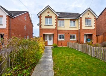 Thumbnail 4 bed town house for sale in Hoole Lane, Hoole, Chester