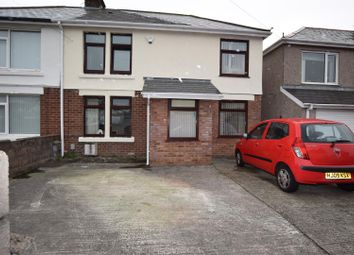 Thumbnail 4 bed semi-detached house for sale in Charter Avenue, Barry