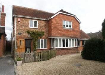 Thumbnail 3 bed detached house to rent in Woodcock Lane, Hordle, Lymington