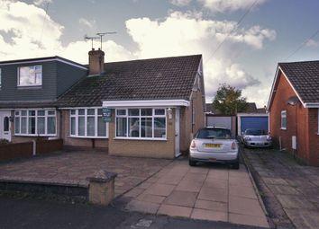 Thumbnail 2 bed semi-detached bungalow to rent in Delves Close, Shavington, Crewe