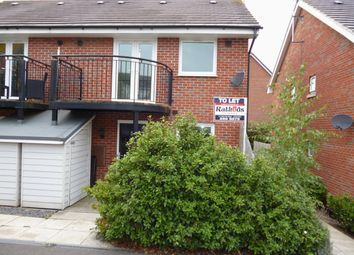 Thumbnail 1 bed semi-detached house to rent in Padside Close, Hamilton, Leicester