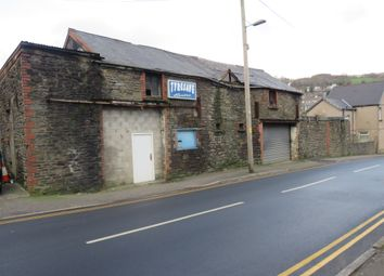 Thumbnail Commercial property for sale in Dyllas Road, Porth